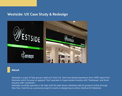 Taking Westside Online : UX Case Study