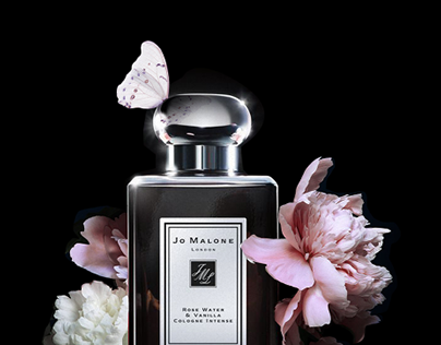 Jo Malone advertising poster-student project