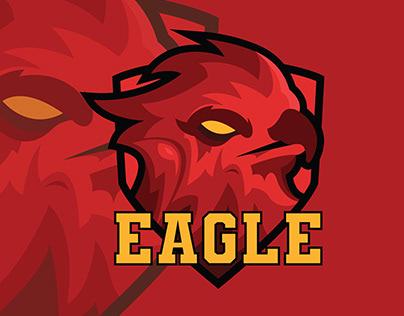 Eagle Esport logo design