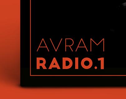 Avram Radio-1 — Vinyl Album Cover