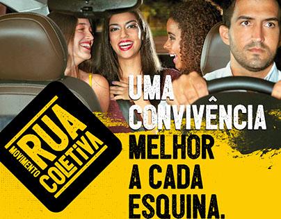 Movimento Rua Coletiva   Maio Amarelo - Detran-ES