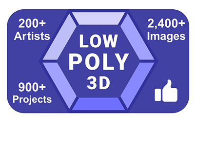 Low-Poly 3D Gallery