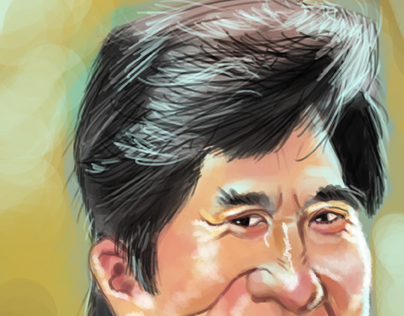 Caricature - Jackie Chan