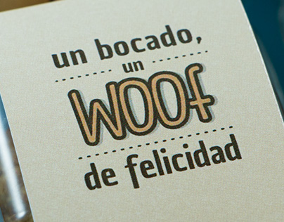 Woof Cake