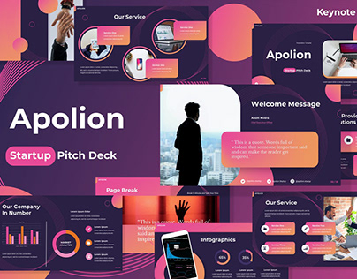 Startup Pitch Deck Multipurpose Template