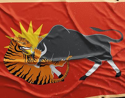 Infographic 'Rampogan Macan'
