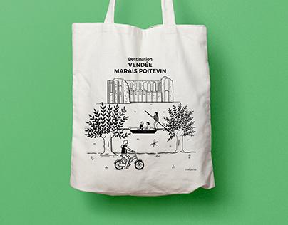 Destination Vendée Marais poitevin - Tote Bag
