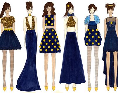 Senior Show Eveningwear (Picasso)