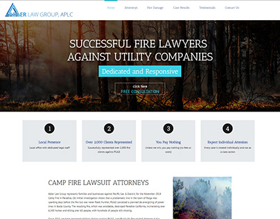 CAMP FIRE LAWSUIT ATTORNEYS
