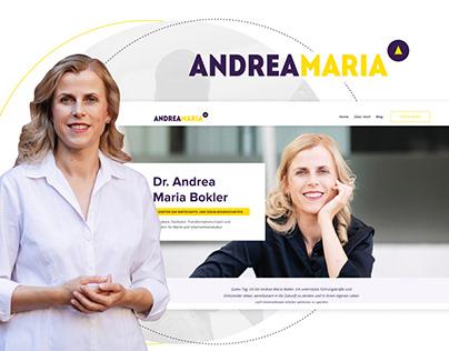 Andrea Maria - Personal Website