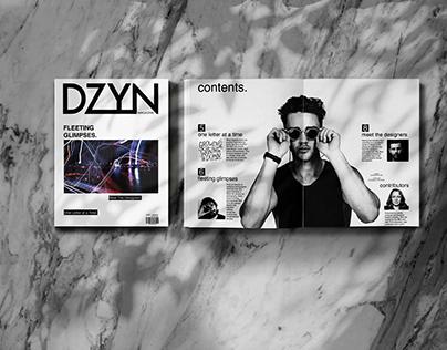 DZYN Magazine - Publication Design & Creation