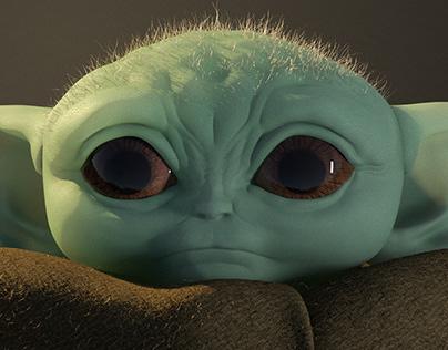 Sculpt Baby Yoda