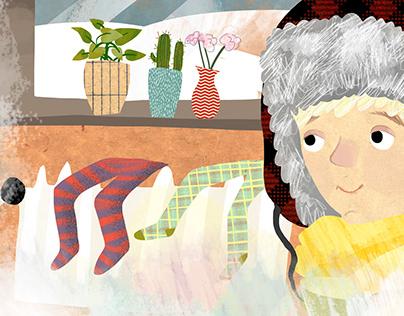 Illustration for Children´s Magazine Slniečko (1/20)