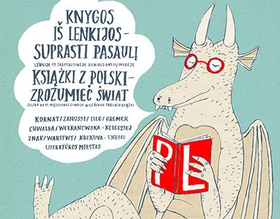 Cracow Dragon, Vilnius Bookfair 2018