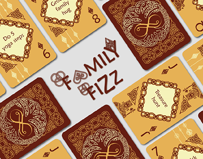FAMILY FIZZ - Playing Cards To Enhance Family Bonding