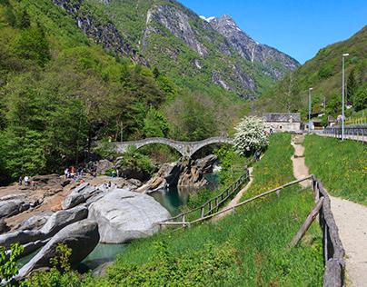 Val Verzasca - May 2014