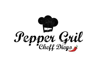 logotipo para um cheff de cozinha