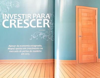 """Editorial Design - """"Investir Para Crescer"""""""