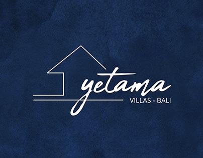 Yetama Villas Logo Design