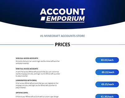 Account Emporium - Thread