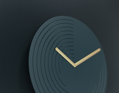 Grooves Clock
