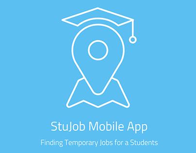 StuJob App - Exercise UX / UI project