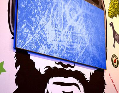 Sports Bar Murals/Branding