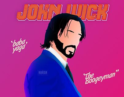 John Wick - Digital Art