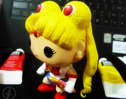 Custom Sailor Moon Funko Pop Toy