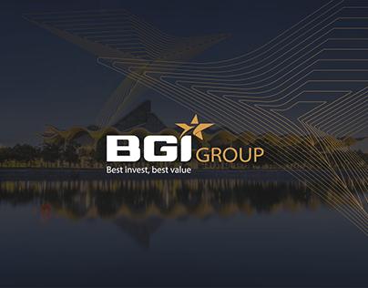 BGI Group | brand & website design