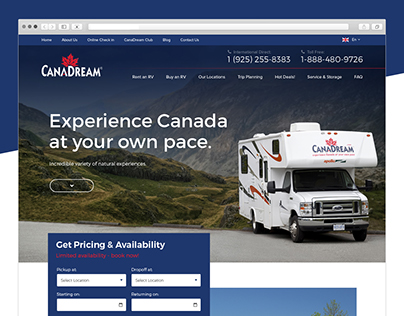 CanaDream RV Rentals and Sales