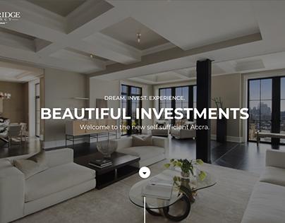 Stonebridge Residency Website UI