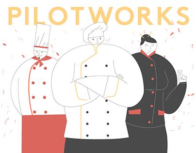 PILOTWORKS — explainer video for a food startup