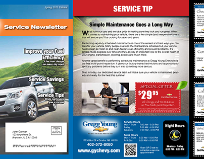 ad / automotive / service