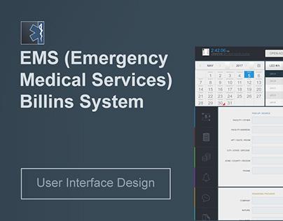 EMS Software UI Design