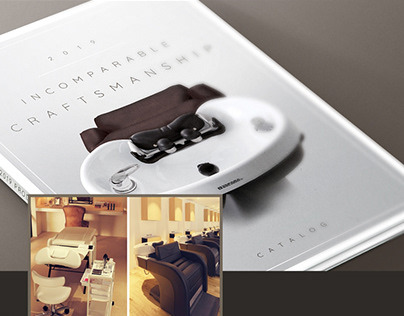 Takara Belmont Product Catalog Design