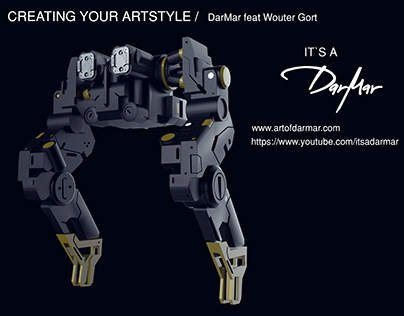 CREATING YOUR ART STYLE 01 | DarMar feat Wouter Gort