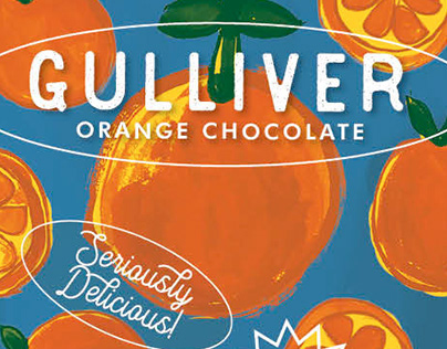 Packaging Design: Gulliver Chocolate