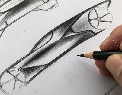 Car sketch festival