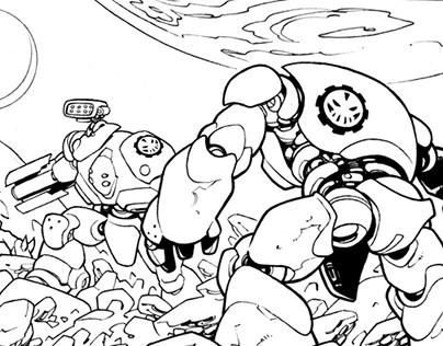 Obliv18n-Inks - Scout Comics
