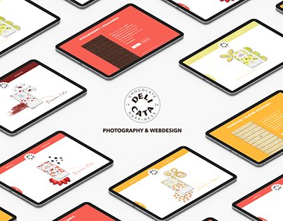 Delicata - Webdesign