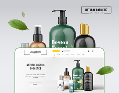 Natural cosmetics. Drupal profile