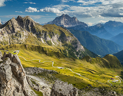 Alpine roads