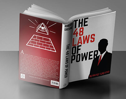 """""""The 48 Laws of Power"""" Dust Jacket / Book Cover Design"""