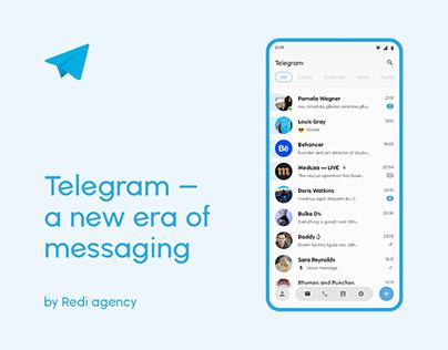 Telegram | Redesign concept