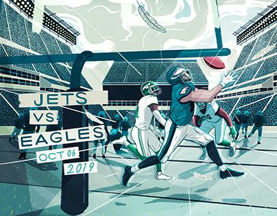 Fly Eagles Fly: Jets vs Eagles