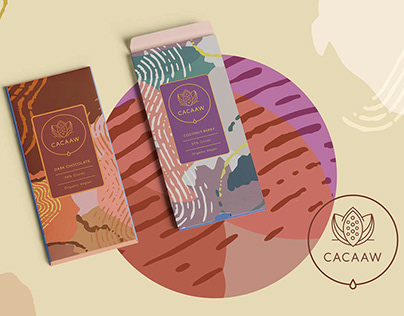 Chocolate Bar Package and Brand Design