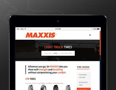 MAXXIS Bangladesh | Website Design & Development