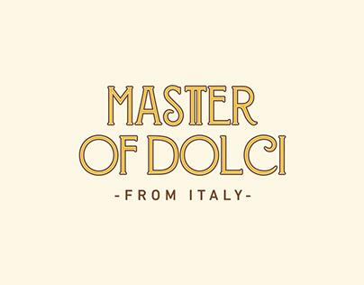 Master of Dolci / Branding