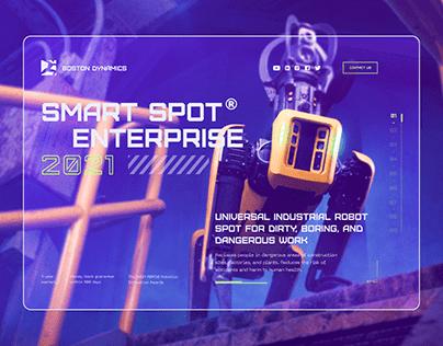 Spot® Enteprise — Promo website design